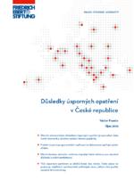 Důsledky úsporných opatření v Česke Republice